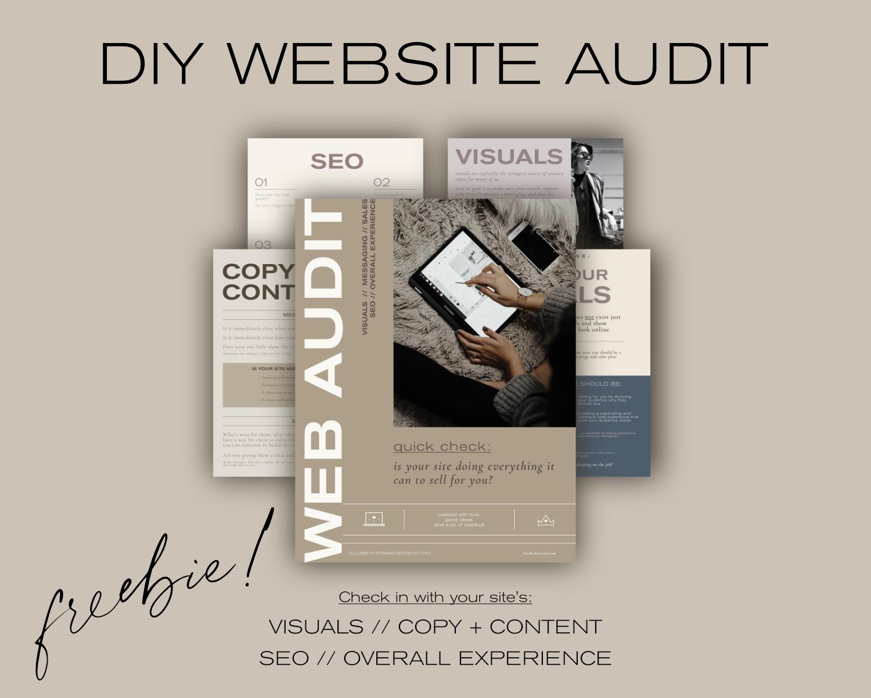 Free DIY website audit download